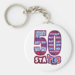 50 STATES THE USA KEY CHAINS