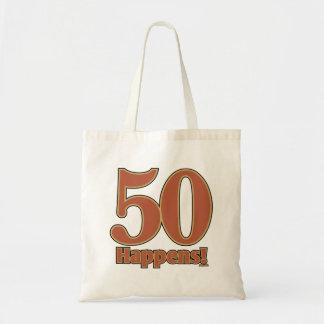 ¡50 sucede! - ROSA Bolsa Tela Barata