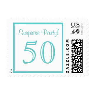 50 Surprise Party Postage
