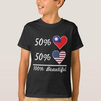 50% Taiwanese 50% American 100% Beautiful T-Shirt