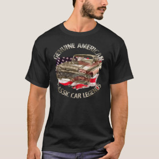 50-ties Chevy Bel Air 1958 Classic US Car, V8 T-Shirt