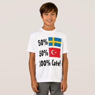 50% Turkish 50% Swedish 100% Cute T-Shirt