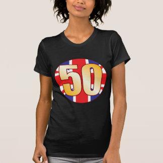 50 UK Gold T-Shirt