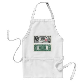 $50 United States Note Legal Tender Series 1880 Adult Apron