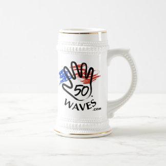 50 Waves Stein 18 Oz Beer Stein