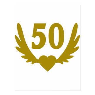 50-Winged-Heart.png Postcard