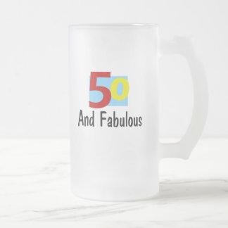 50 y fabuloso tazas de café