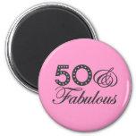50 y regalo fabuloso iman