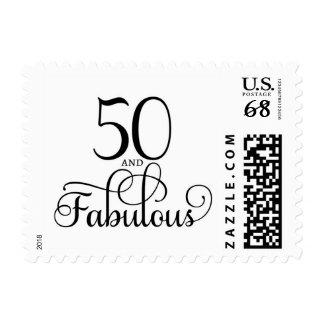 50 y sello fabuloso