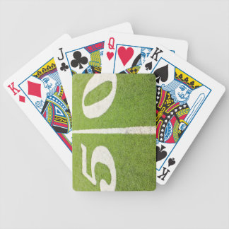 50 Yard Line Bicycle Playing Cards