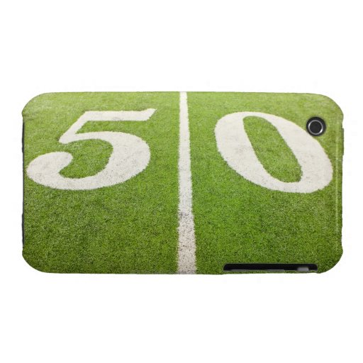 50 Yard Line iPhone 3 Cases