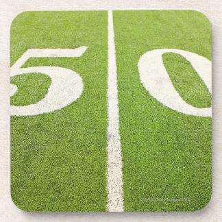 50 Yard Line Beverage Coaster