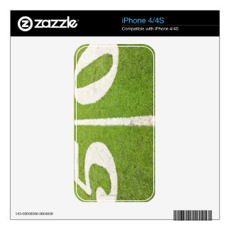 50 Yard Line Decal For The iPhone 4