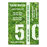 50 Yard Line - You're Invited Card