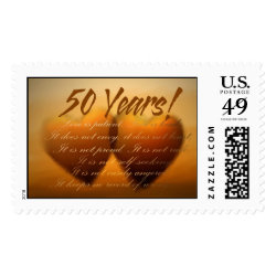 50th golden anniversary postage stamps perfect postage