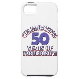 50 year old birthday design iPhone SE/5/5s case