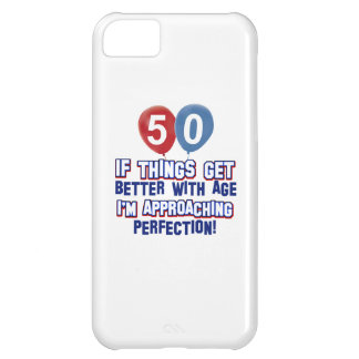 50 year old birthday gifts cover for iPhone 5C