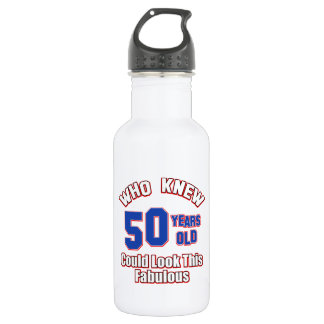 50 year old could look this fabulous water bottle