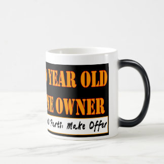 50 Year Old, One Owner - Needs Parts, Make Offer Magic Mug