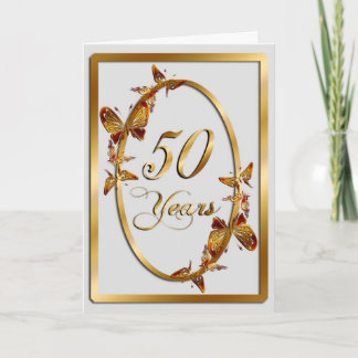 50 Years (anniversary) Card