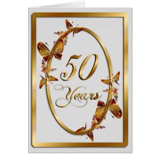 50 Years (anniversary) Card
