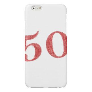 50 years anniversary glossy iPhone 6 case