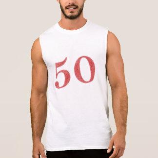 50 years anniversary sleeveless shirt