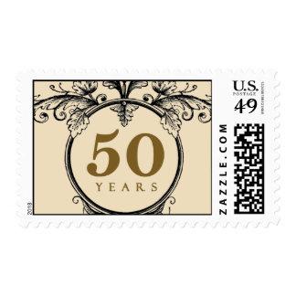 50 years anniversary stamp