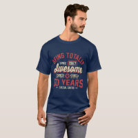 50 Years Being Totally Awesome T-Shirt