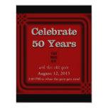 50 Years Celebration Old Goat Photo Invitations