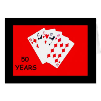 50 Years Is A Big Deal Anniversary Card