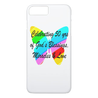 50 YEARS OF BLESSINGS iPhone 8 PLUS/7 PLUS CASE