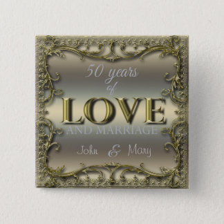 50 Years of Love ID196 Button