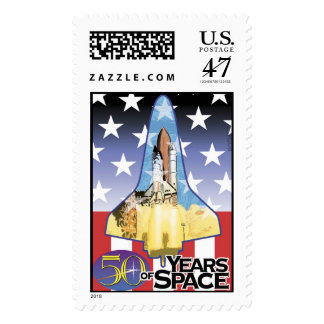 50 Years of Space - Shuttle Launch Postage