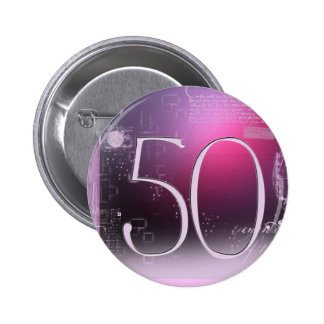 50 years old! button