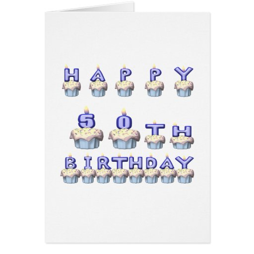 50 Years Old Greeting Card