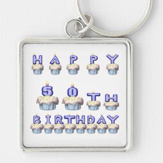 50 Years Old Keychain