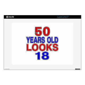 50 Years Old Looks 18 Laptop Skins