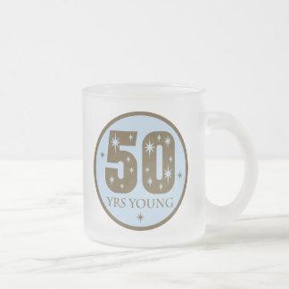 50 Years Young 50th Birthday Gift Coffee Mugs