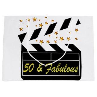 50 YR OLD MOVIE STAR LARGE GIFT BAG