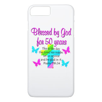 50 YR OLD PRAYER iPhone 8 PLUS/7 PLUS CASE