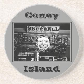 '50c Skeeball' Coaster