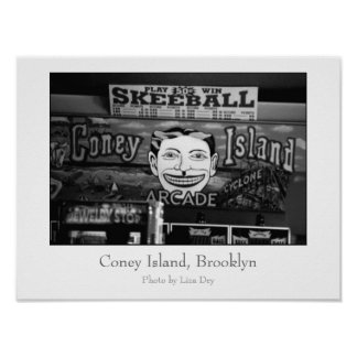 '50c Skeeball' Poster