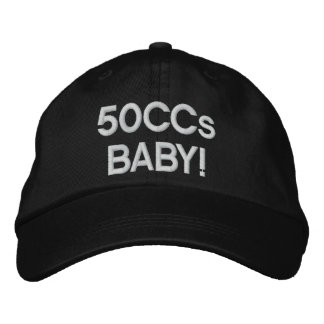 50CCsBABY! Embroidered Hat