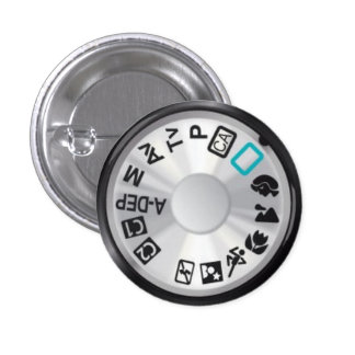 50D Mode Dial Pinback Button