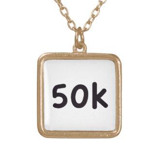 50k colgante