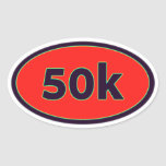 50k oval sticker
