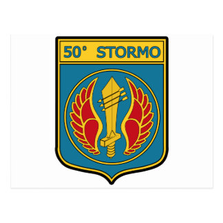 50o Stormo Postcard