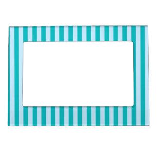 50s Blue Stripes Magnetic Frame
