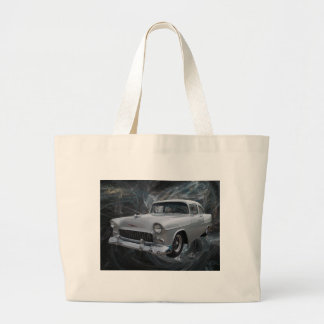 50s chevy1 .jpg canvas bags